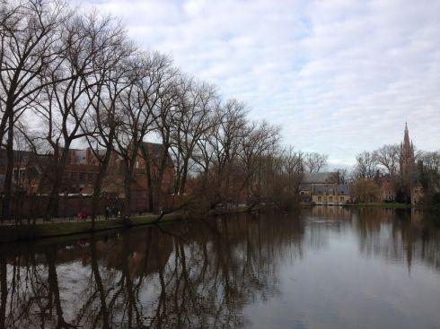 Minneewater, le coin le plus romantique de Bruges