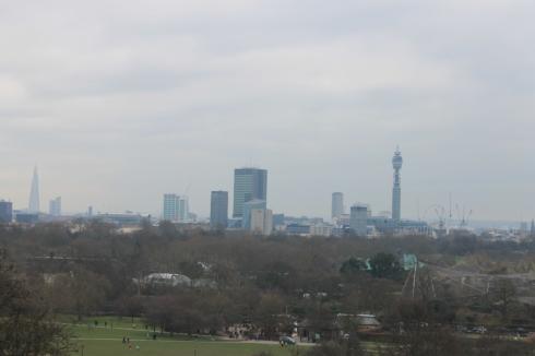 Londres vue de Primrose Hill