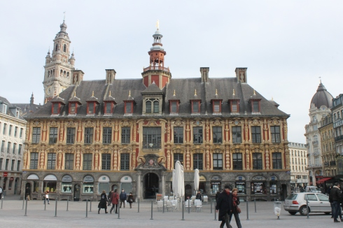 Vieille bourse sur la Grand Place