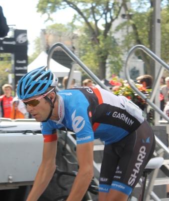 Ryder Hesjedal au Grand Prix Cycliste de Montréal en 2012