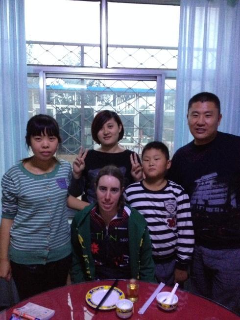 """Ma """"famille"""" à Zhanhua!"""