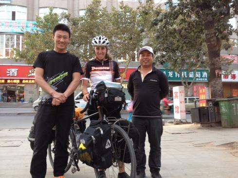 Un petit échantillon des gars de la boutique de vélo