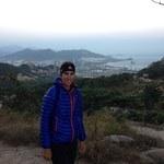 Au sommet de Fushan mountain avec vue sur Qingdao!