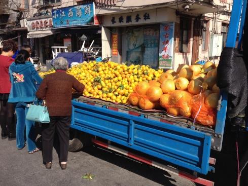 La nourriture n'est jamais bien loin en Chine