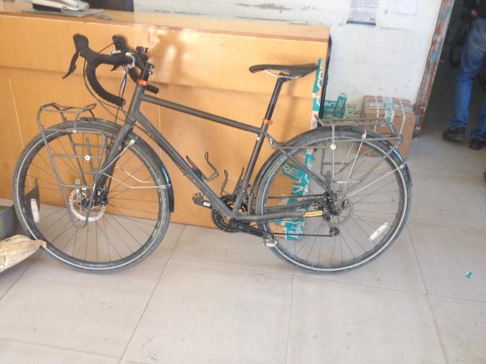 Toujours difficile d'abandonner le vélo...